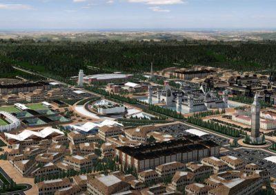 Vista aérea. Europe Royale Theme Park. Bluerain Holding
