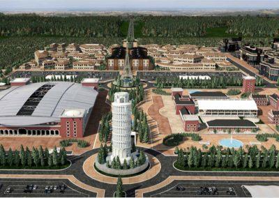 Europe Royale Theme Park. Bluerain Holding