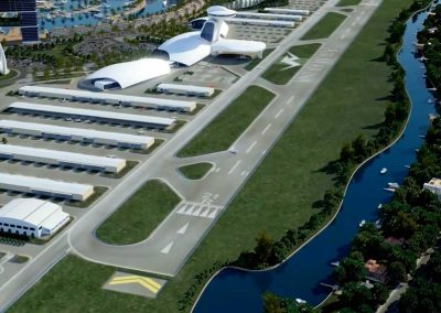 Zona Aeropuerto. Air Marina. Bluerain Holding