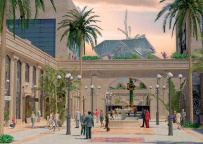 Cokoway. Centro comercial. Bluerain Holding