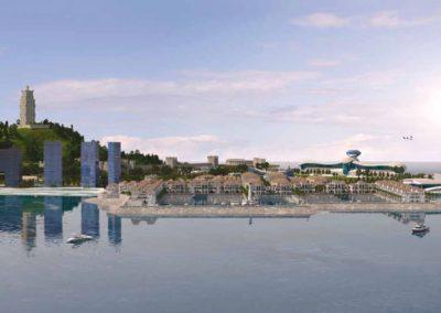 Hoteles. Diamond Island. Bluerain Holding