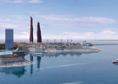 Construcción. Diamond Island. Bluerain Holding