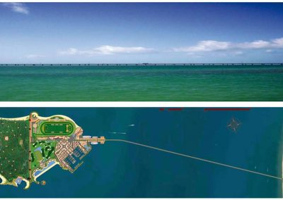 Puente. Diamond Island. Bluerain Holding