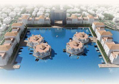 Europe Royal. Zona residencial. Bluerain Holding