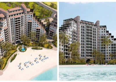 Fourwinds Resorts. Construcción. Bluerain Holding.