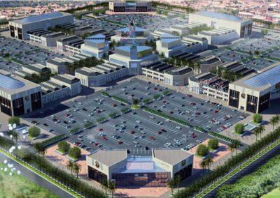 Centros comerciales. North Star International Dynamics. Construcción. Bluerain Holding.